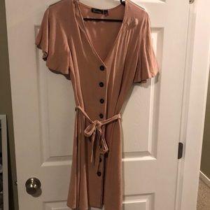 Femme by design button up dress